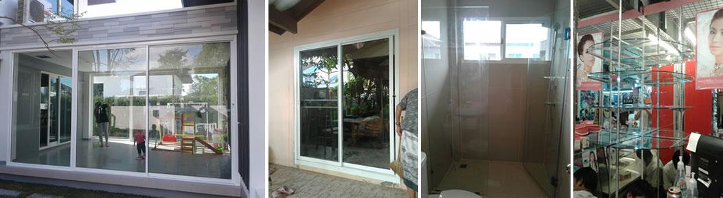 รับติดตั้งกระจกอลูมิเนียมบ้านและอาคารต่างๆ รับติดตั้งกระจกอลูมิเนียม  โดยช่างที่ชำนาญงานมากกว่า10ปี